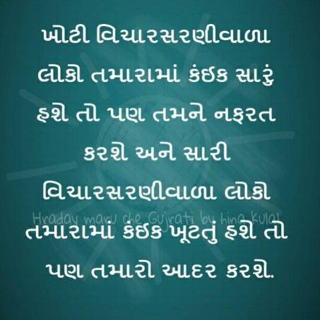 Gujrati suvichar With New Images